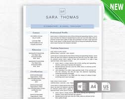 monogram resume template professional resume free resume