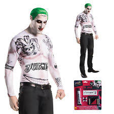 Joker Nurse Halloween Costume Mens Halloween Costumes Joker Ebay