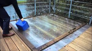 parador water resistant testing
