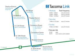 Tacoma Washington Map by Proposed Tacoma Link Line Map By Schreibstang On Deviantart