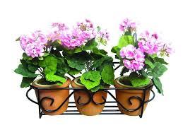 flower pot railing planter â u20ac u201c for railings balconies or fenceser