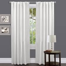 Living Room Curtains Modern Living Room Curtains White With Valance Leaves Grommets Hooks Sets