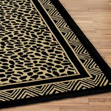 Leopard Runner Rug Leopard Print Hooked Area Rugs