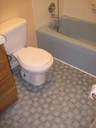 bathroom original brick patterned black bathroom floor tiles and