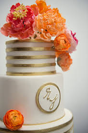orange and gold wedding cake tbrb info