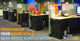 cubicle decorations total corporate solutions personalize your work space with office