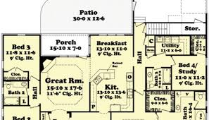 4 bedroom ranch style house plans 1 ranch style house plans luxamcc org