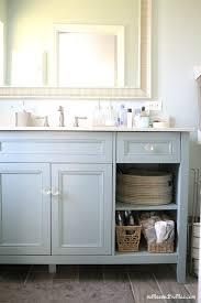 revamped bathroom vanity diy project helpful homemade home made