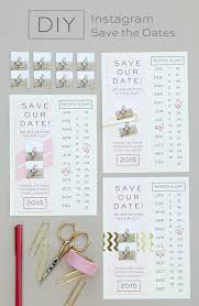 inexpensive save the date cards wedding card design handmade diy outline calendar style