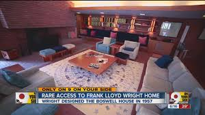 rare tour inside frank lloyd wright home youtube