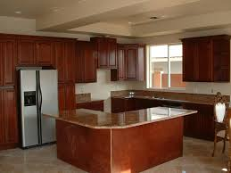 Low Cost Kitchen Design by Showroom Huntington Traditional Cherry Kitchen Cabinets Low