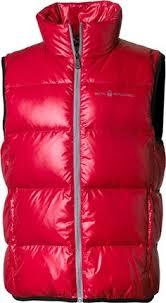 sail racing frost down vest strike blue vest for men products