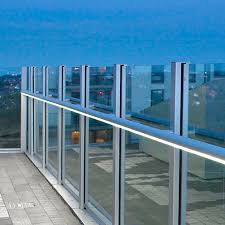 what is integrated led lighting aluminum handrail polycarbonate with integrated led lighting