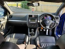 2006 volkswagen golf mk5 r32 manual blue full service 89 000 miles
