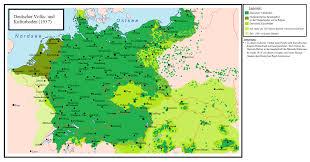 Language Map Of Europe by Deutsche Mundarten German Language U2013 Manyroads