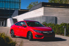 honda civic 2016 2016 honda civic coupe waiting for the si