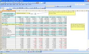Financial Spreadsheet Excel Budgeting Financial Forecasting