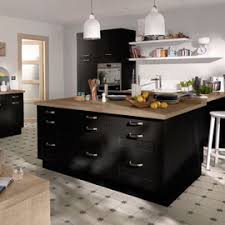 meuble de cuisine noir meuble bas cuisine 1 porte 2 cuisine kadral cooke amp