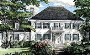 southern colonial home plan 32444wp architectural designs