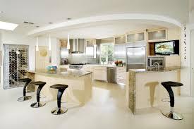 Unique Kitchens Unique Kitchen Island Shapes White Undermount Sink Terazzo Tile