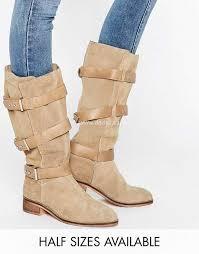 womens boots uk asos asos canterbury suede knee high boots sand womens asos knee boots
