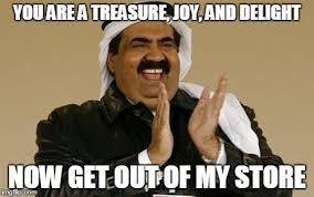 Meme Arab - indiana arab imgflip