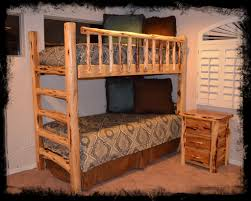 Log Bed Pictures by Log Beds Cedar Furniture Twin Twin Bunk Bed U2013 Log Beds 4 U