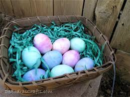 Easter Egg Decorating Ideas With Shaving Cream by Shaving Cream Dyed Easter Eggs 7 Steps With Pictures