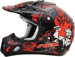 motocross bike sizes afx fx 17 zombie dirt bike off road motocross atv helmet see