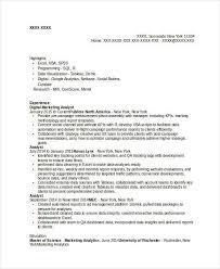 marketing resume samples 43 free word pdf documents download