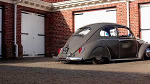 stanced volkswagen beetle niall u0027s slammed skirted 63 vw beetle the video volks youtube