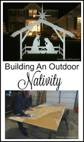 Lighted Outdoor Christmas Nativity Scene by 25 Unique Outdoor Nativity Ideas On Pinterest Outdoor Nativity