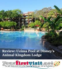 the uzima springs pool at disney u0027s animal kingdom lodge