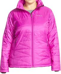 columbia morning light jacket columbia women s plus morning light insulated omni heat jacket pink