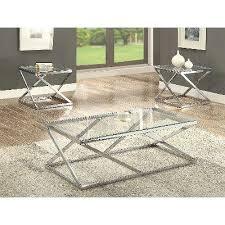 3 piece coffee table set crome furniture chrome and glass 3 piece coffee table set spray