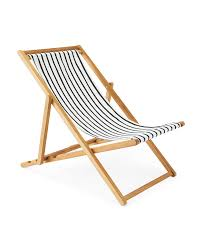Canvas Sling Back Chairs by Teak Sling Chair Serena U0026 Lily