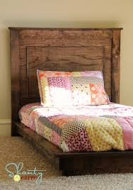 Diy Platform Bed Easy by Ana White Fillman Platform Headboard Diy Projects