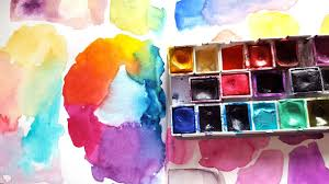 journal with me watercolor play color wheel youtube