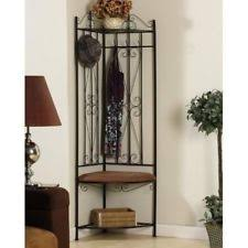 entry coat rack entryway bench hall tree hat organization corner
