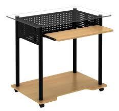 Small Maple Computer Desk Amazon Com Ergocraft C 0327 Avis Computer Cart Kitchen U0026 Dining