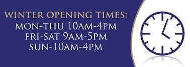 features page winter opening times