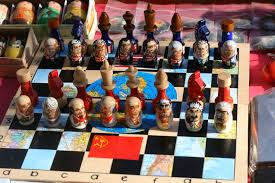 chess set markets yerevan armenia photo page everystockphoto