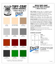 dyco pool deck paint colors