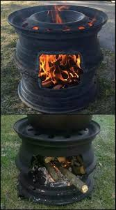 Buy Firepit Recycled Tire Bbq And Pit Car Rims Barbecues And Truck