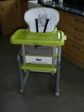high chair converts to table and chair jane pacifier clips cases ebay