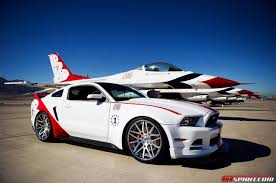 mustang modified official 2014 ford mustang gt u s air force thunderbirds edition