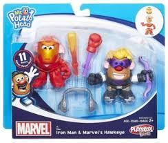 Potato Head Kit Disguise Marvel Playskool Friends Iron Man Marvels Hawkeye Potato Head