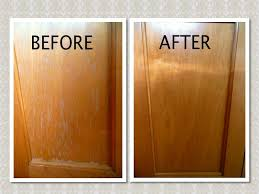cleaning kitchen cabinets with vinegar mix 3 4 cup canola oil 1 4 cup apple cider vinegar in a jar and
