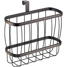 Interdesign Bathroom Accessories Interdesign York Lyra Newspaper And Magazine Rack For Bathroom