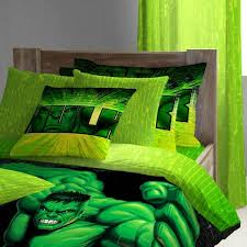 Green Double Duvet Cover Boys Bedding 28 Superheroes Inspired Sheets